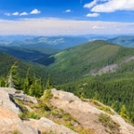 """View from Grandmother Mountain • <a style=""""font-size:0.8em;"""" href=""""http://www.flickr.com/photos/56452031@N00/50079544052/"""" target=""""_blank"""">View on Flickr</a>"""