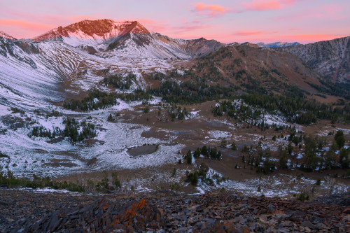 Alpenglow on Pete's Point