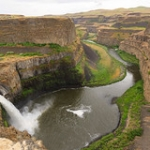 "Palouse Falls Canyon View • <a style=""font-size:0.8em;"" href=""http://www.flickr.com/photos/56452031@N00/8863125669/"" target=""_blank"">View on Flickr</a>"