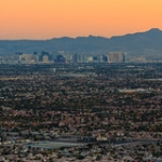 """Las Vegas from Lone Mountain • <a style=""""font-size:0.8em;"""" href=""""http://www.flickr.com/photos/56452031@N00/8213102123/"""" target=""""_blank"""">View on Flickr</a>"""