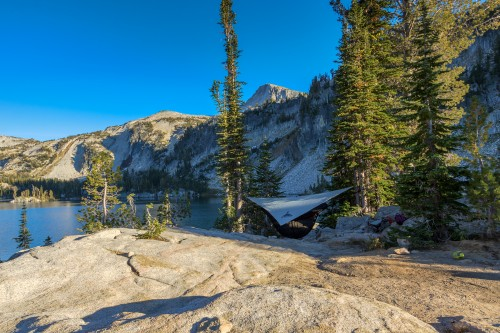 Camp at Mirror Lake