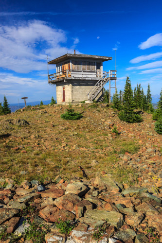 Dry Diggins fire tower.